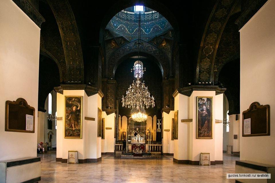 Духовный центр всех Армян кафедральный собор Эчмиадзин, храмы Рипсиме, Гаяне