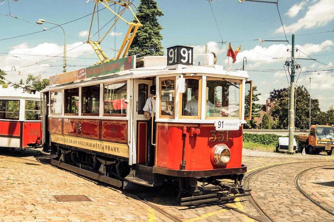 Прага на историческом трамвае с посещением Музея транспорта и дегустацией пива