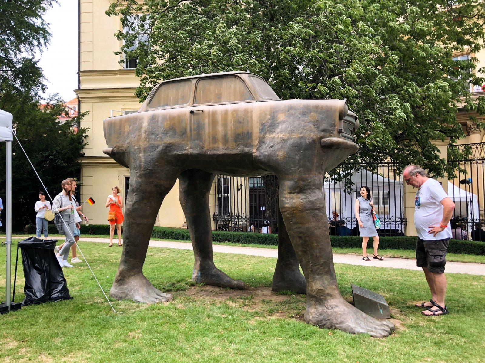 Прага, Давид Черный и современность