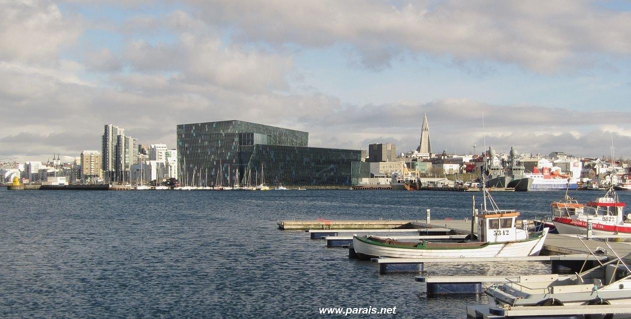 Город контрастов — Рейкьявик, самая северная столица мира