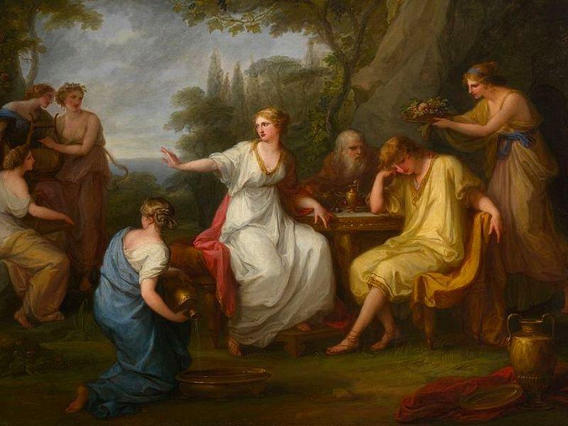 Женщины в европейском искусстве