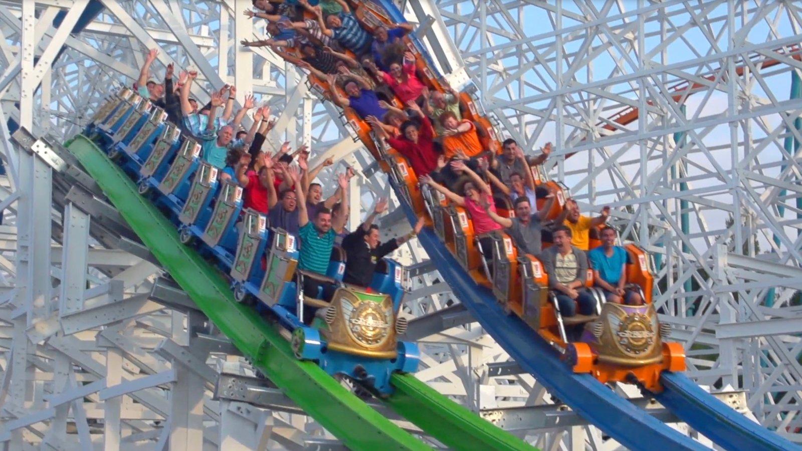 8.29 Однодневная поездка в Парк аттракционов Six Flags