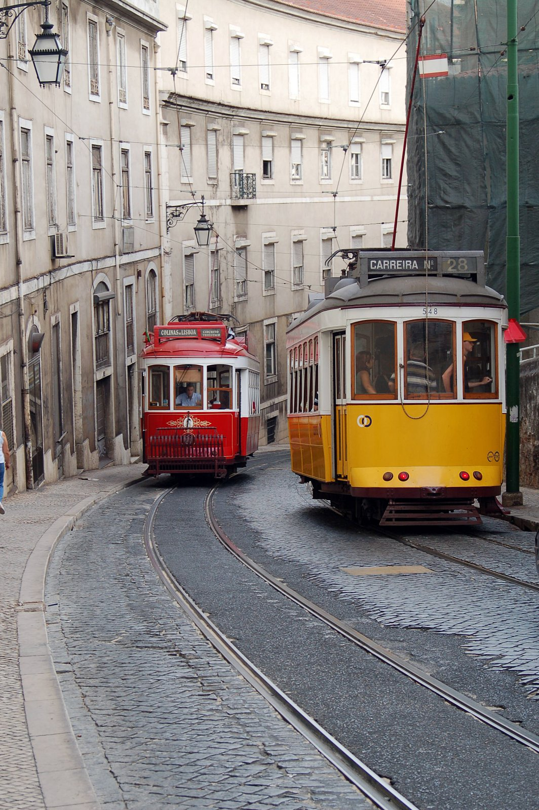 Знакомство с Лиссабоном пешком и на трамвае