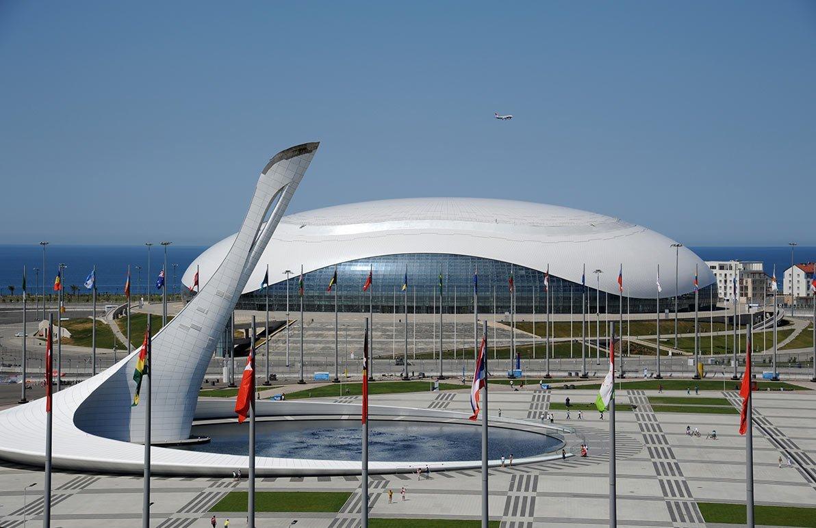 Олимпийские объекты в сочи картинки