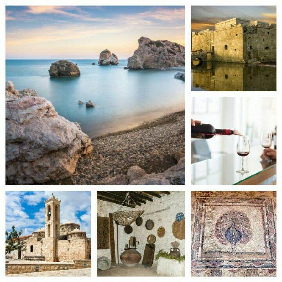 Пафос. Запад Кипра. Обзорный тур. Выезд из Лимассола