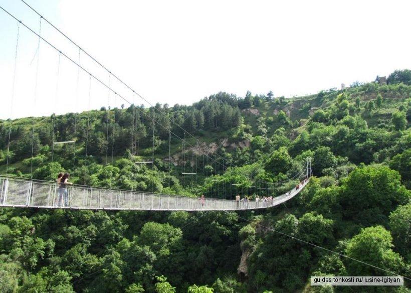 Нораванк, Старый Хндзореск, Качающийся мост, Горис