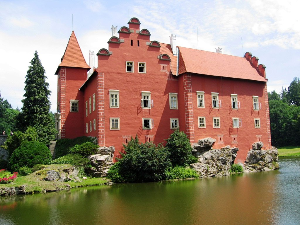 Замки Южной Чехии с финалом в Червена-Льготе