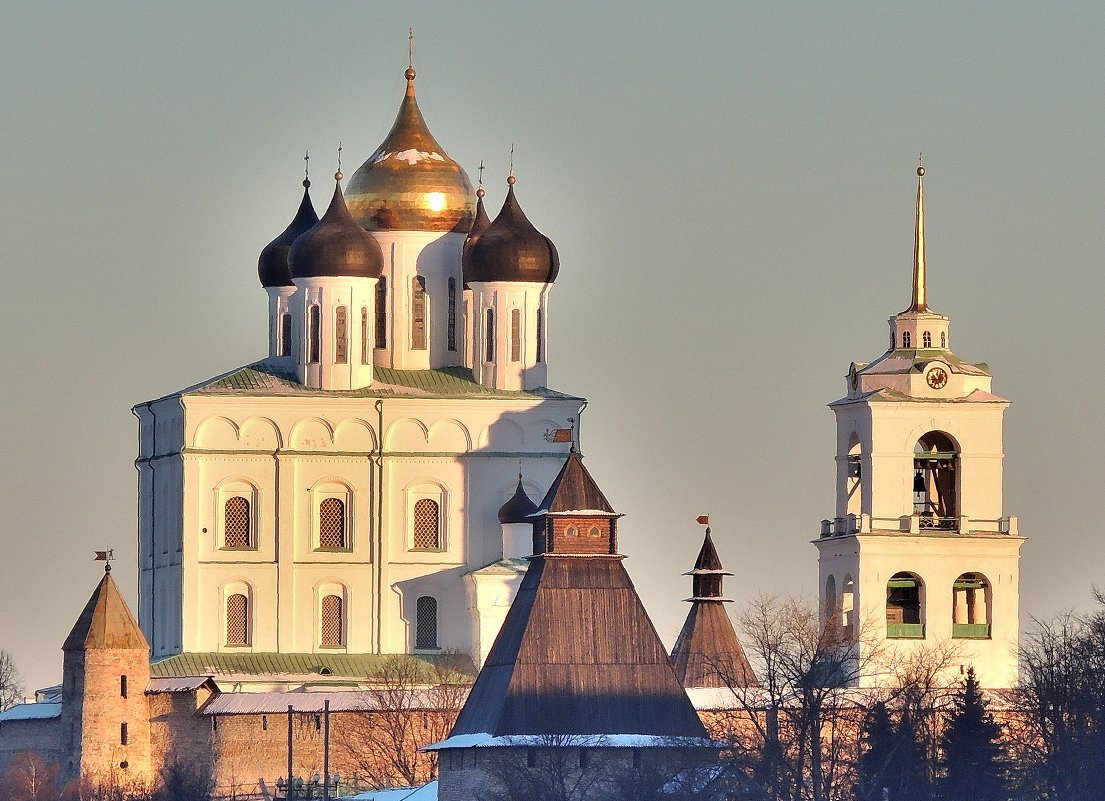 Обзорная по Пскову «От древности к современности»