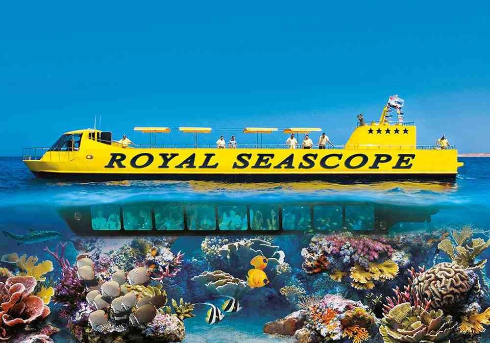 Окно в подводный мир — экскурсия Батискаф из Хургады