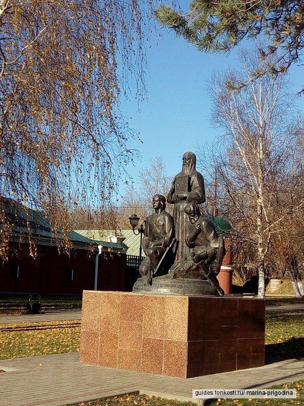 Неспешным шагом по Сергиевскому посаду