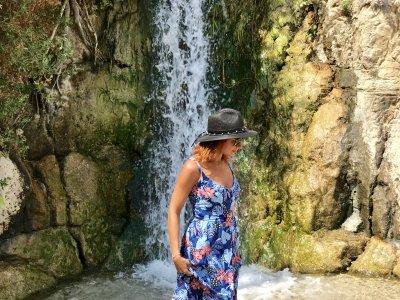 Водопады оазиса Эйн-Геди и отдых на пляже Мертвого моря (на экскурсионном автотранспорте)