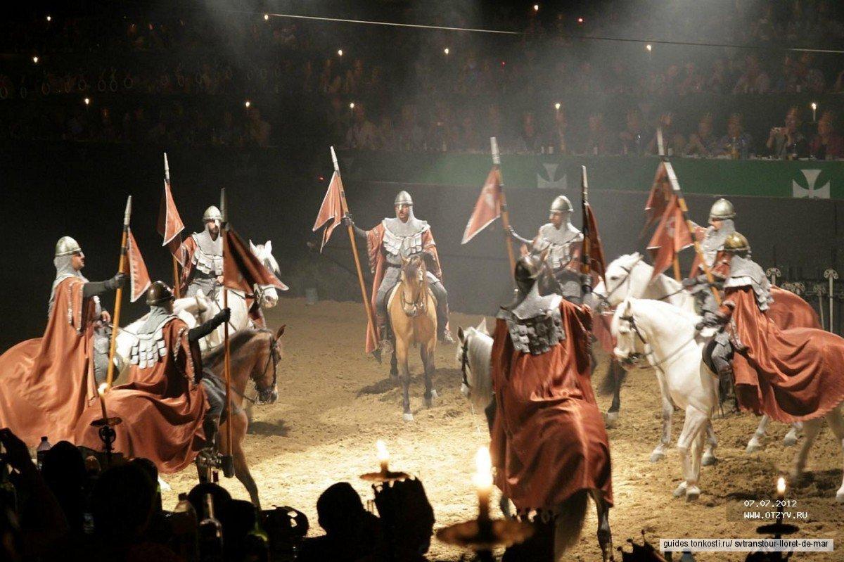 Фламенко в средневековом замке Castell Medieval (билеты и трансфер)