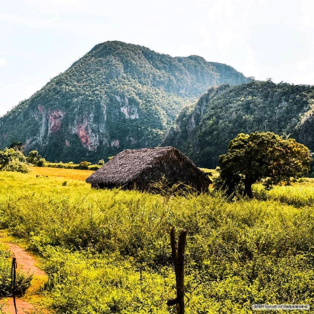 Знакомство с фантастическими пейзажами долины Виньялес