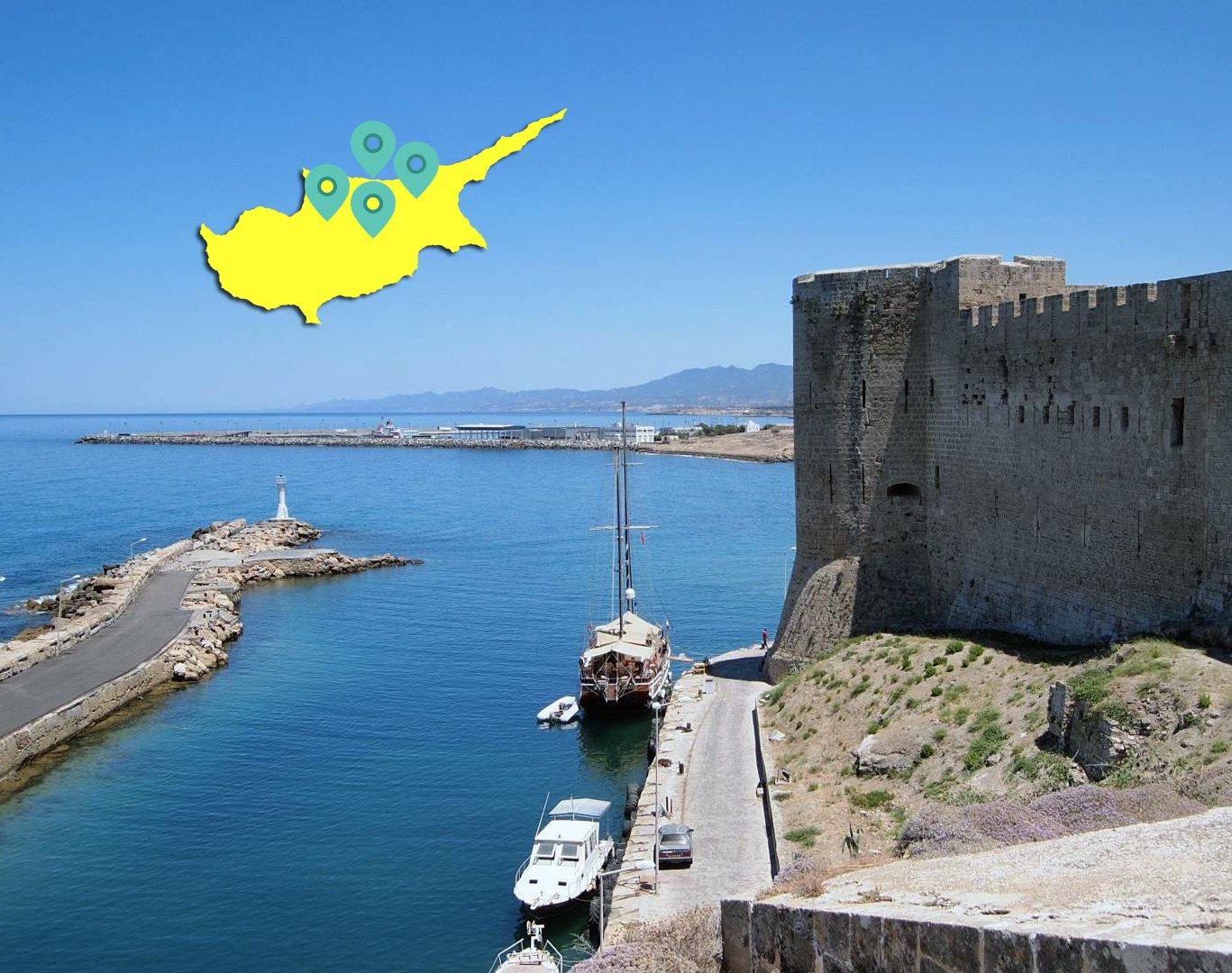 «Северный Кипр. Часть 1»: Никосия — замок Св. Иллариона — Кирения — аббатство Беллапаис