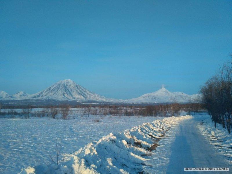 Снегоходная экскурсия к Авачинскому перевалу и Экструзии Верблюдузии