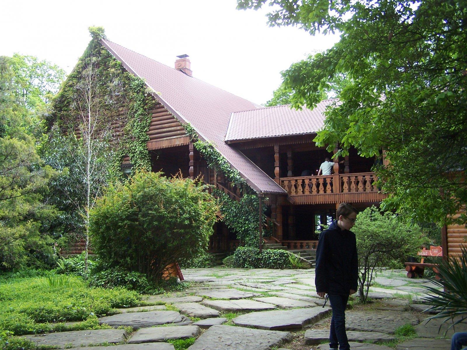Агурское ущелье + Чайные домики