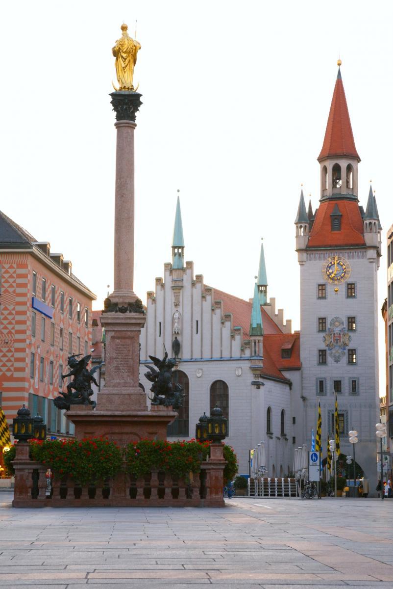 Экскурсия по историческому центру Мюнхена