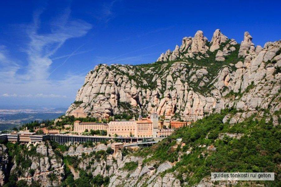 Монсеррат — горный монастырь ордена Св. Бенедикта
