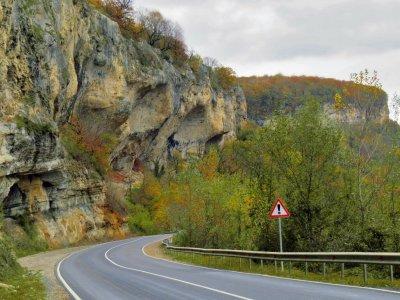 На хребет Уна-Коз по Савранской канатной дороге
