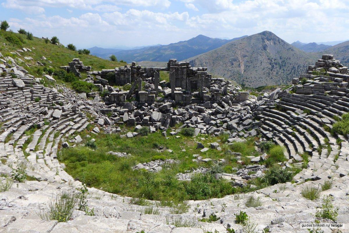 Невероятный античный город — Сагалассос