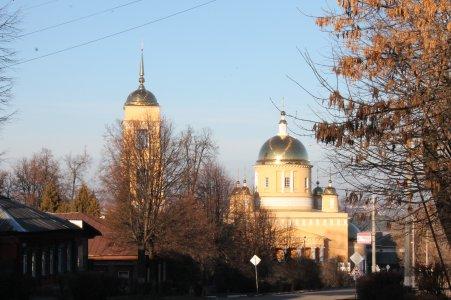 Золотые купола Каширы