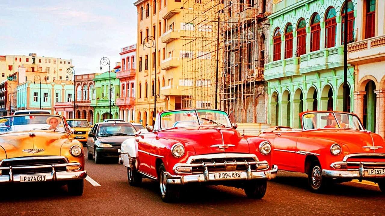 Обзорная экскурсия по Гаване на кабриолете + пеший тур по старой Гаване
