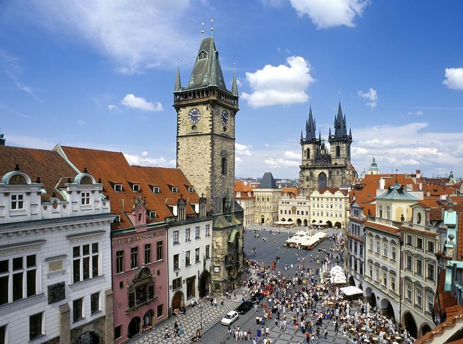 Правобережная Прага: Старый и Новый город