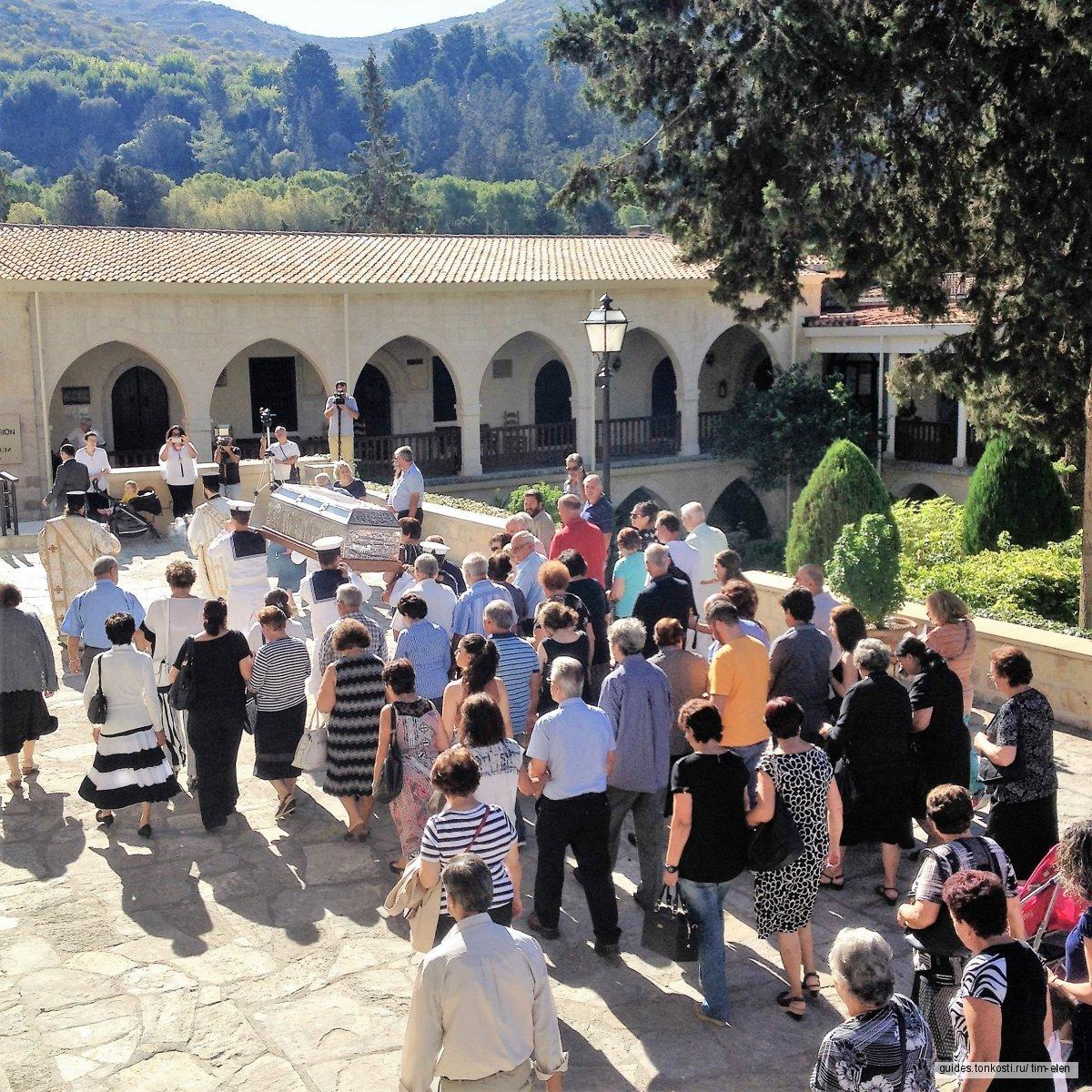 Экскурсия в монастырь святого Неофитоса (Неофита). Выезд из Пафоса