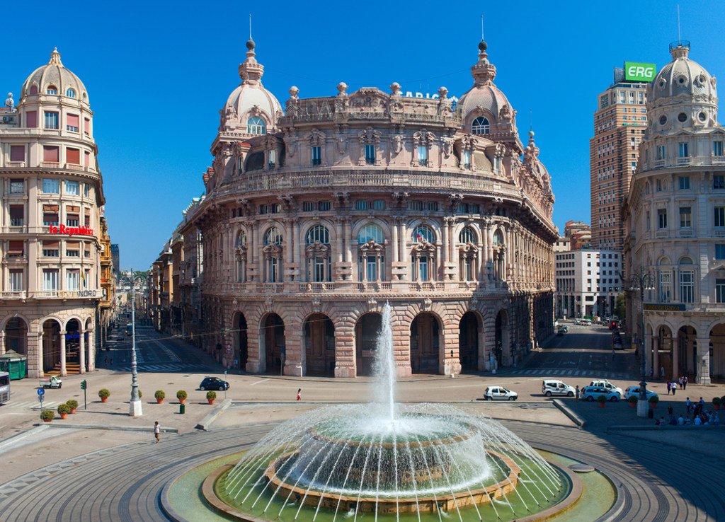 Портовая Генуя + Аквариум (второй по величине в Европе)