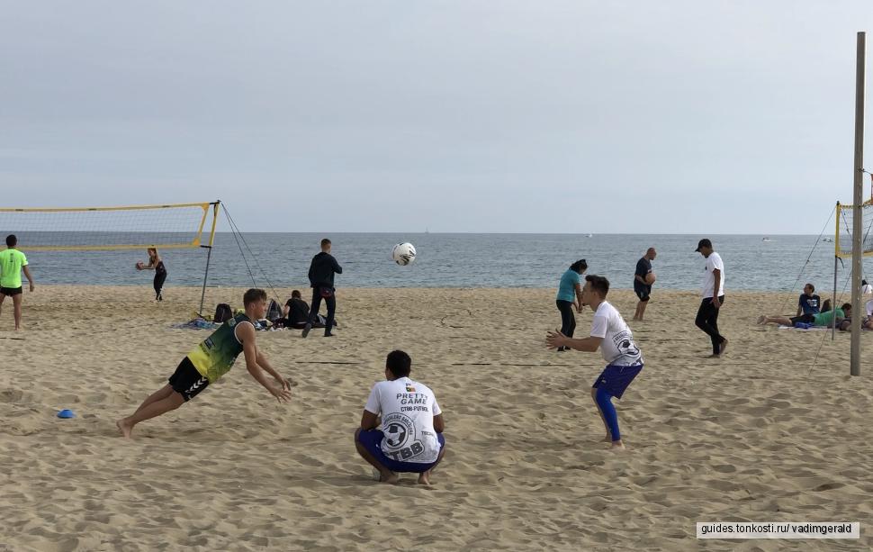 Футбольная тренировка со звездным тренером