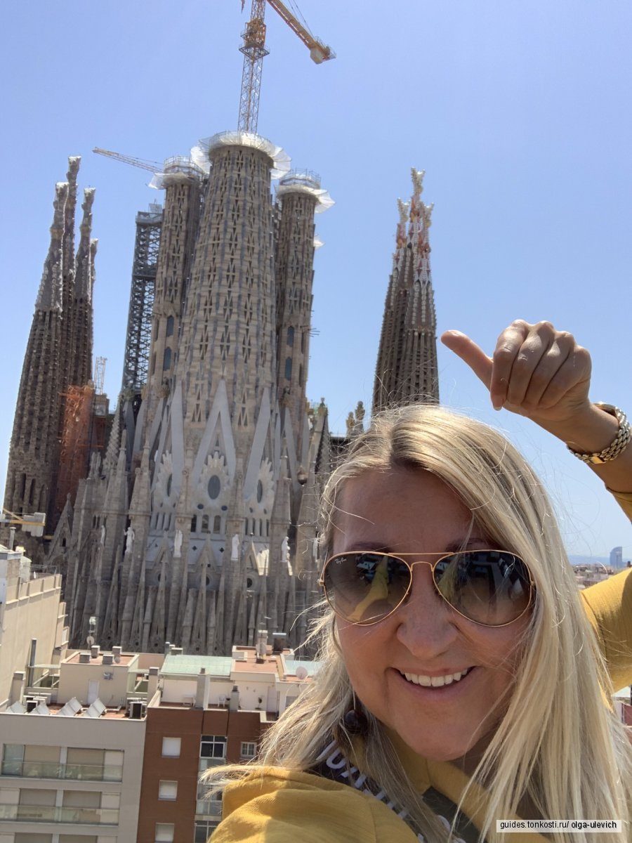 Вся Барселона за 4 часа! (на машине)