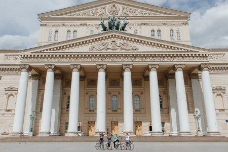 Велосипедная Stand-up экскурсия по историческому центру Москвы от диктора Первого канала!