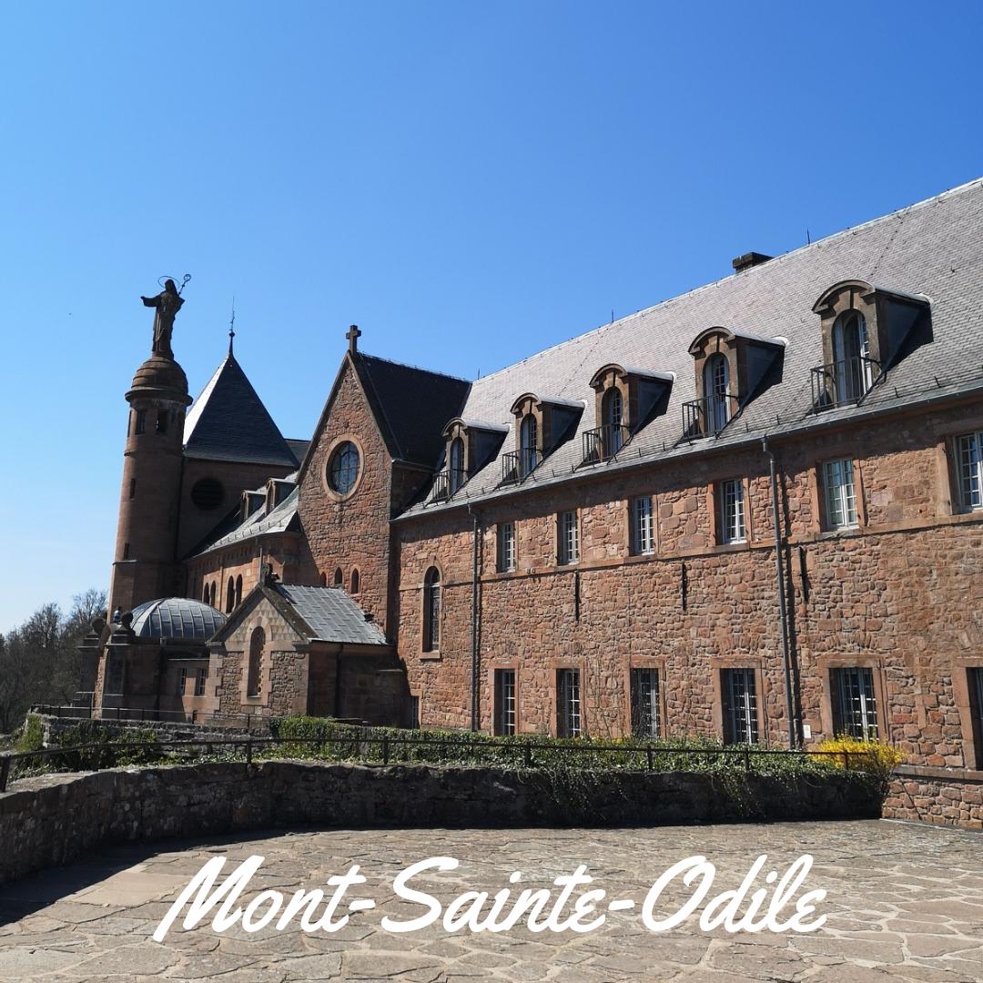 Путешествие из Страсбурга в Оберне, на Гору Святой Одилии, винные дегустации