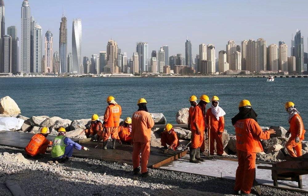 Житель Дубая
