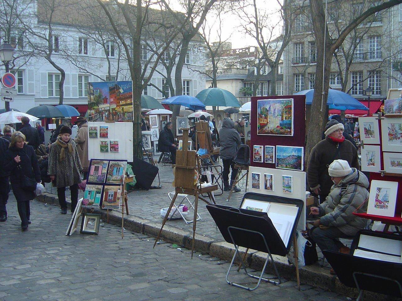 Монмартр! Эпицентр свободы и творчества