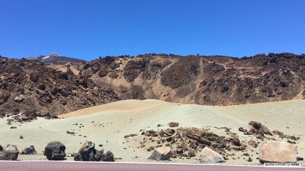 Знакомство с вулканом Тейде