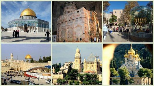 Иерусалим — у истоков религии