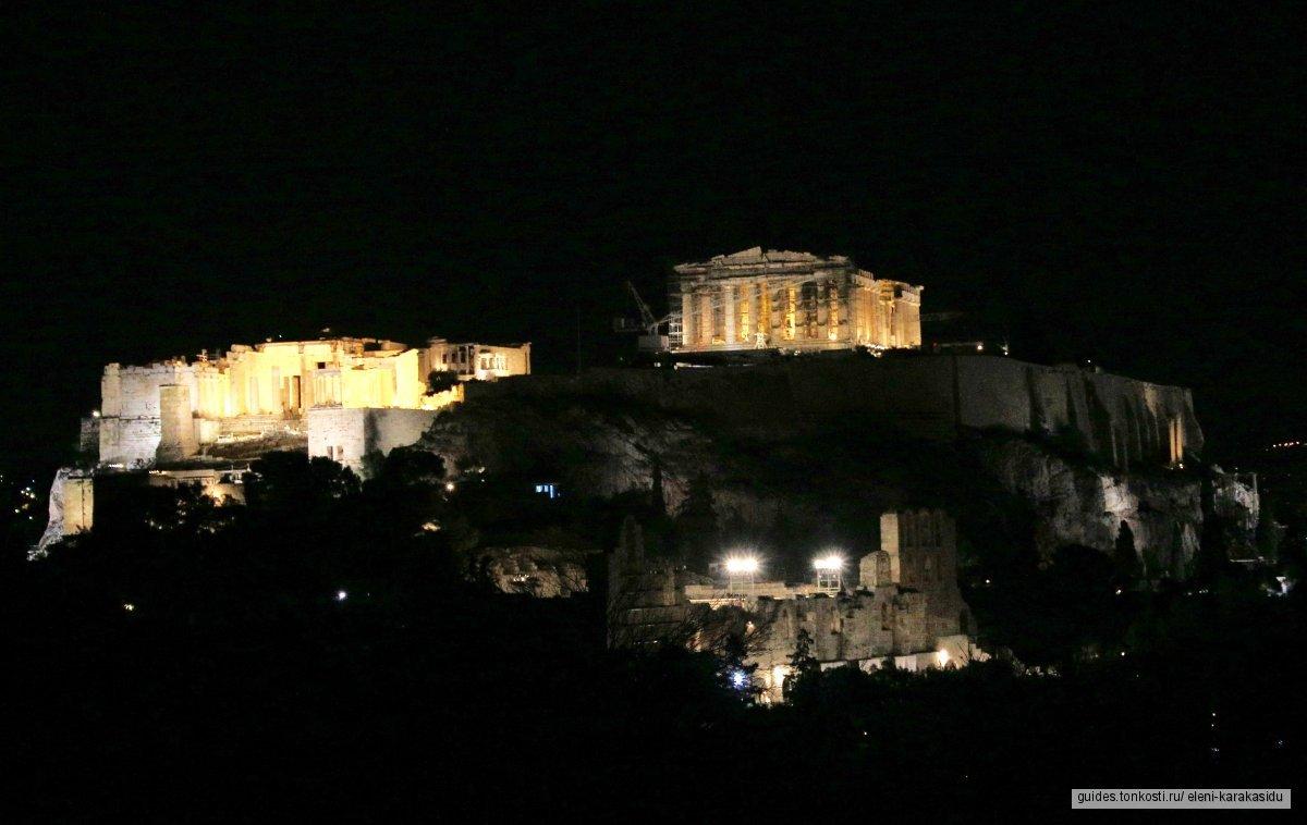 Классический тур: Акрополь в Афинах