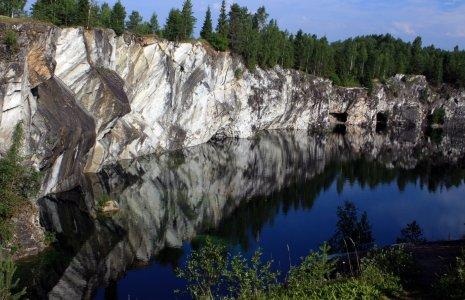 Мраморный каньон Рускеала из Петрозаводска