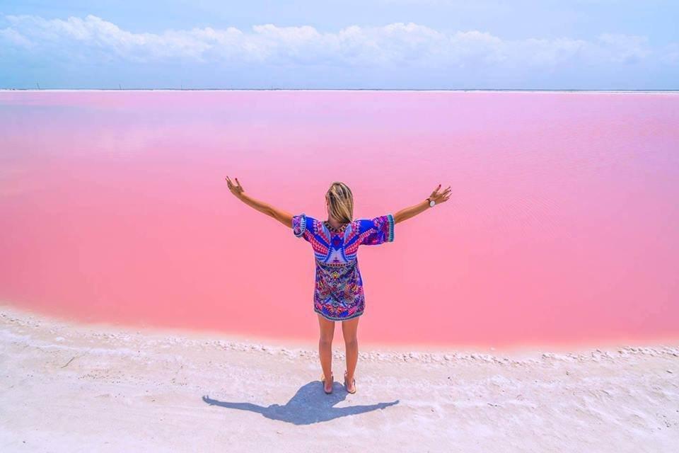 Колониальный город Вальядолид + Розовые озера + Розовые фламинго + Крокодиловая река