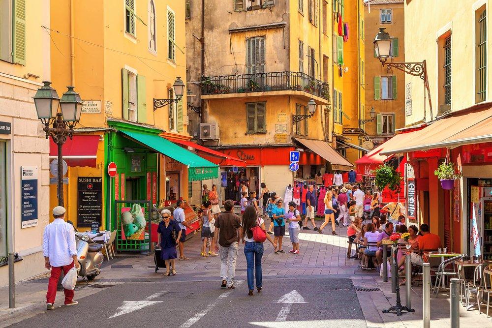 Пешеходная экскурсия по Ницце