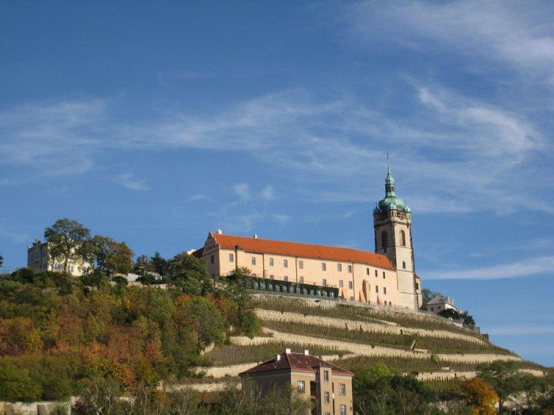 Из Праги в замок Мельник