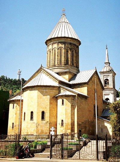 Чарующий и теплый Тбилиси