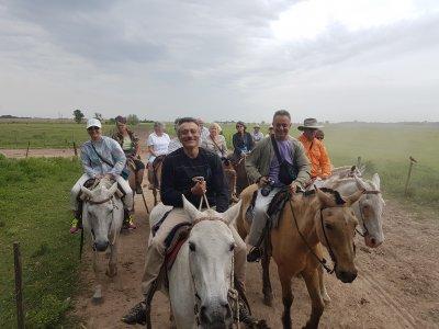 Поездка на ранчо к аргентинским ковбоям