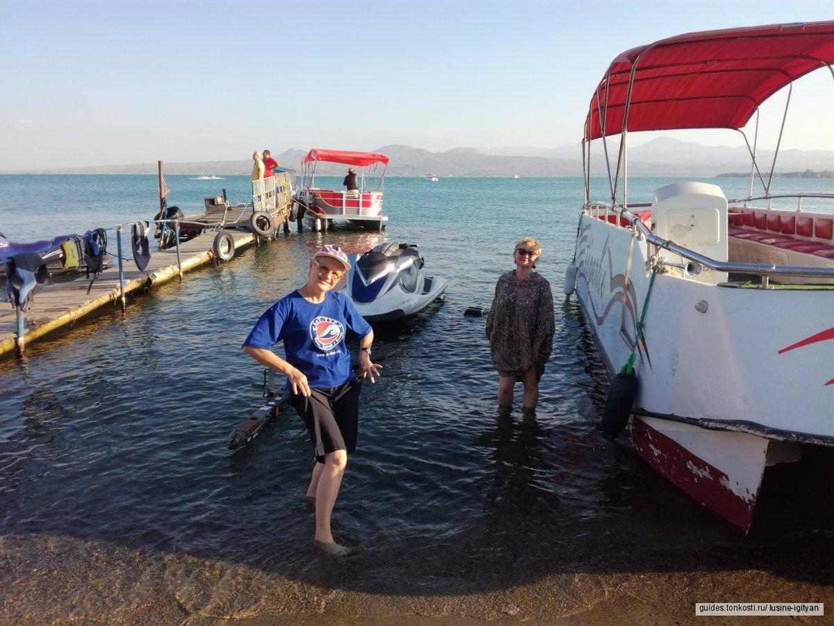 Озеро Севан, рыба сиг и памятники