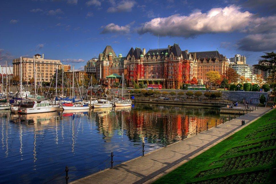 Прекрасная Виктория — столица Британской Колумбии