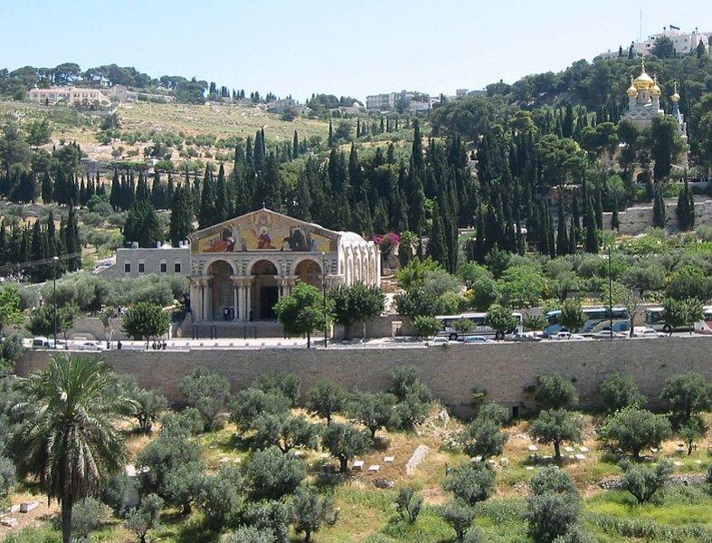 Горы окрест Иерусалима...