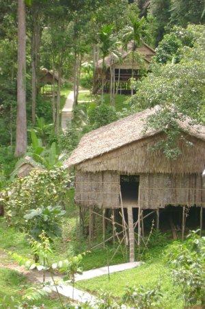 Культурная деревня Борнео — традиции племен охотников за головами
