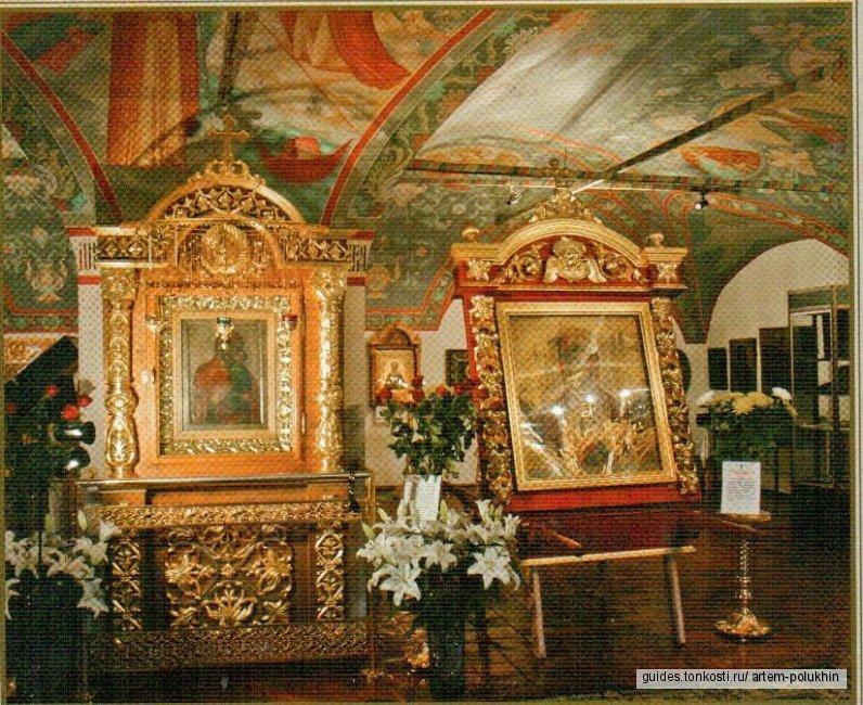 Ярославль монастырский. К чудотворной иконе Богоматери Толгской