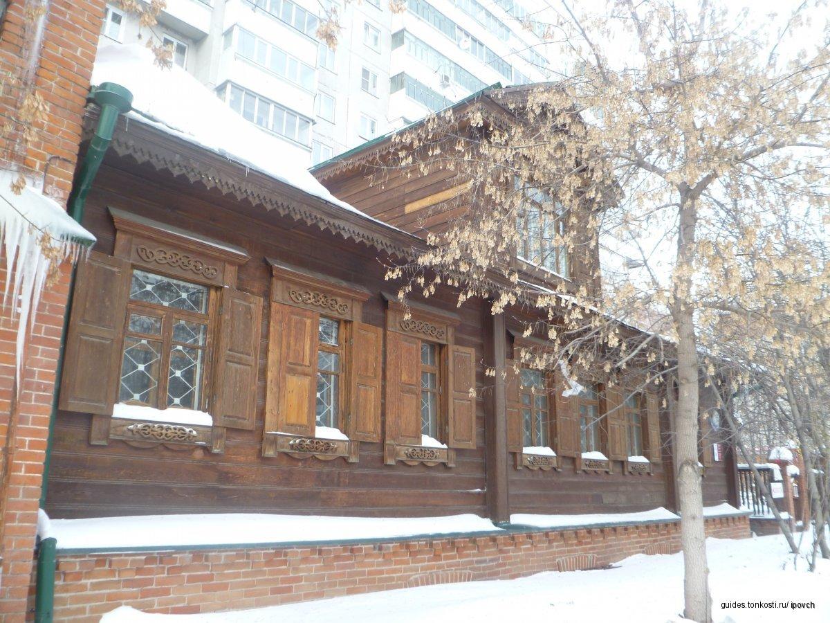 Деревянное кружево Новосибирска.